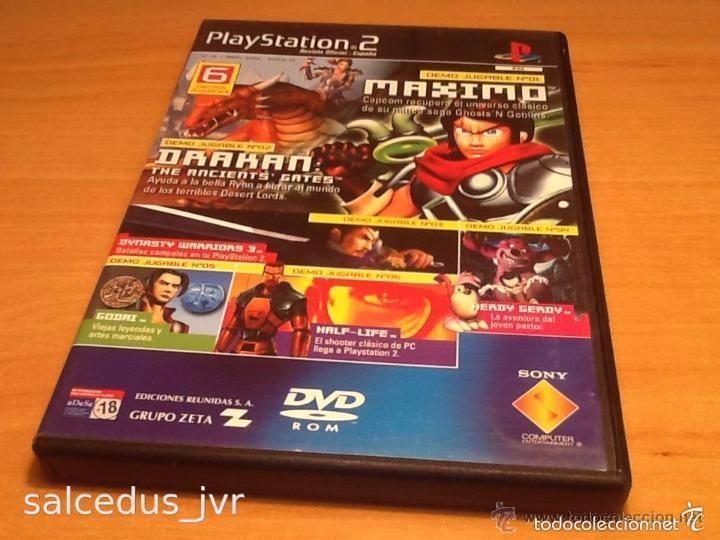 DEMOS JUGABLES, VÍDEOS Y EXTRAS DE JUEGOS PARA SONY PLAYSTATION 2 PLAY STATION PS2 PAL ESP Nº15 (Juguetes - Videojuegos y Consolas - Sony - PS2)