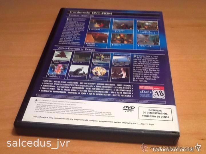 Videojuegos y Consolas: Demos jugables, vídeos y extras de juegos para Sony PlayStation 2 Play Station PS2 PAL ESP Nº15 - Foto 2 - 124478298