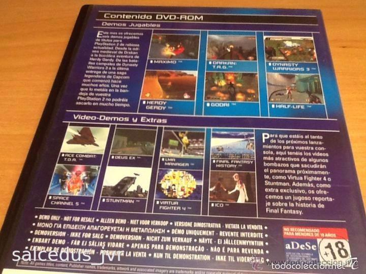 Videojuegos y Consolas: Demos jugables, vídeos y extras de juegos para Sony PlayStation 2 Play Station PS2 PAL ESP Nº15 - Foto 3 - 124478298