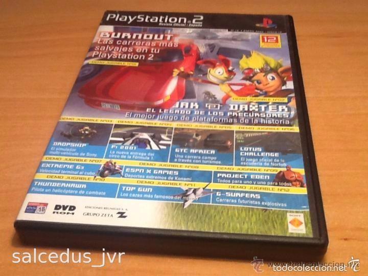 DEMOS JUGABLES, VÍDEOS Y EXTRAS DE JUEGOS PARA SONY PLAYSTATION 2 PLAY STATION PS2 PAL ESP DISCO 12 (Juguetes - Videojuegos y Consolas - Sony - PS2)