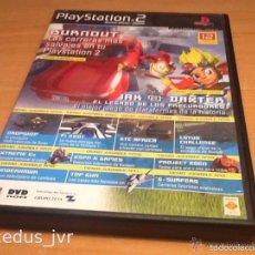 Videojuegos y Consolas: DEMOS JUGABLES, VÍDEOS Y EXTRAS DE JUEGOS PARA SONY PLAYSTATION 2 PLAY STATION PS2 PAL ESP DISCO 12. Lote 124478390