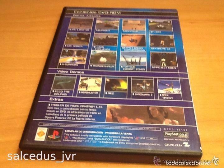 Videojuegos y Consolas: Demos jugables, vídeos y extras de juegos para Sony PlayStation 2 Play Station PS2 PAL ESP Disco 12 - Foto 2 - 124478390