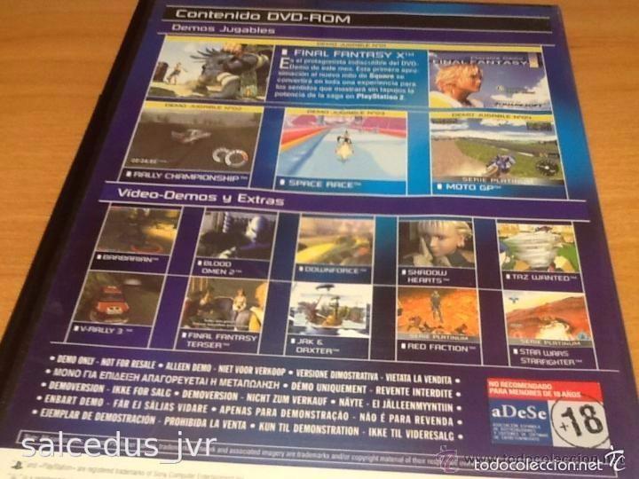 Videojuegos y Consolas: Demos jugables, vídeos y extras de juegos para Sony PlayStation 2 Play Station PS2 PAL ESP Disco 17 - Foto 2 - 124478548