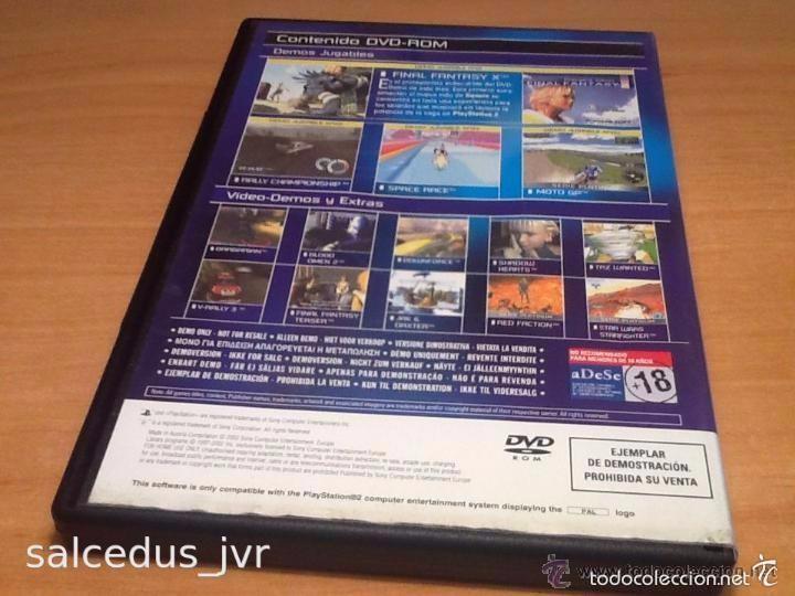 Videojuegos y Consolas: Demos jugables, vídeos y extras de juegos para Sony PlayStation 2 Play Station PS2 PAL ESP Disco 17 - Foto 3 - 124478548