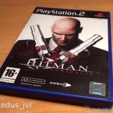 Videojuegos y Consolas: HITMAN CONTRACTS JUEGO PARA SONY PLAY STATION 2 PS2 PLAYSTATION PAL ESPAÑA. Lote 61087635