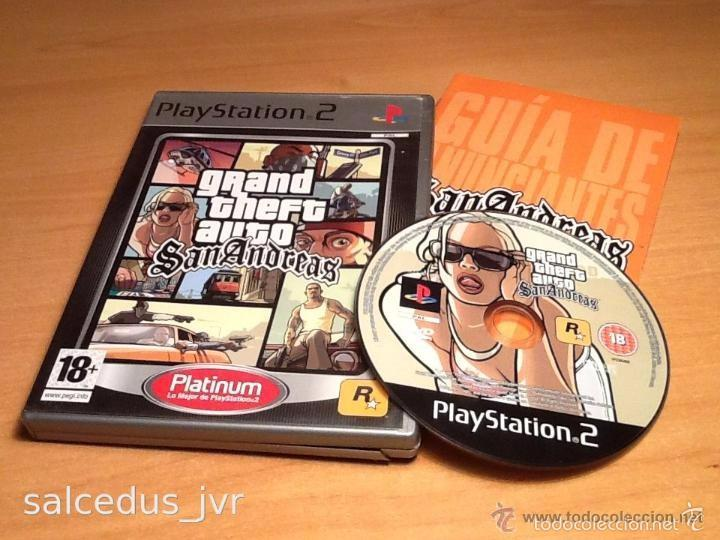 Grand Theft Auto Gta San Andreas Juego Para Son Comprar