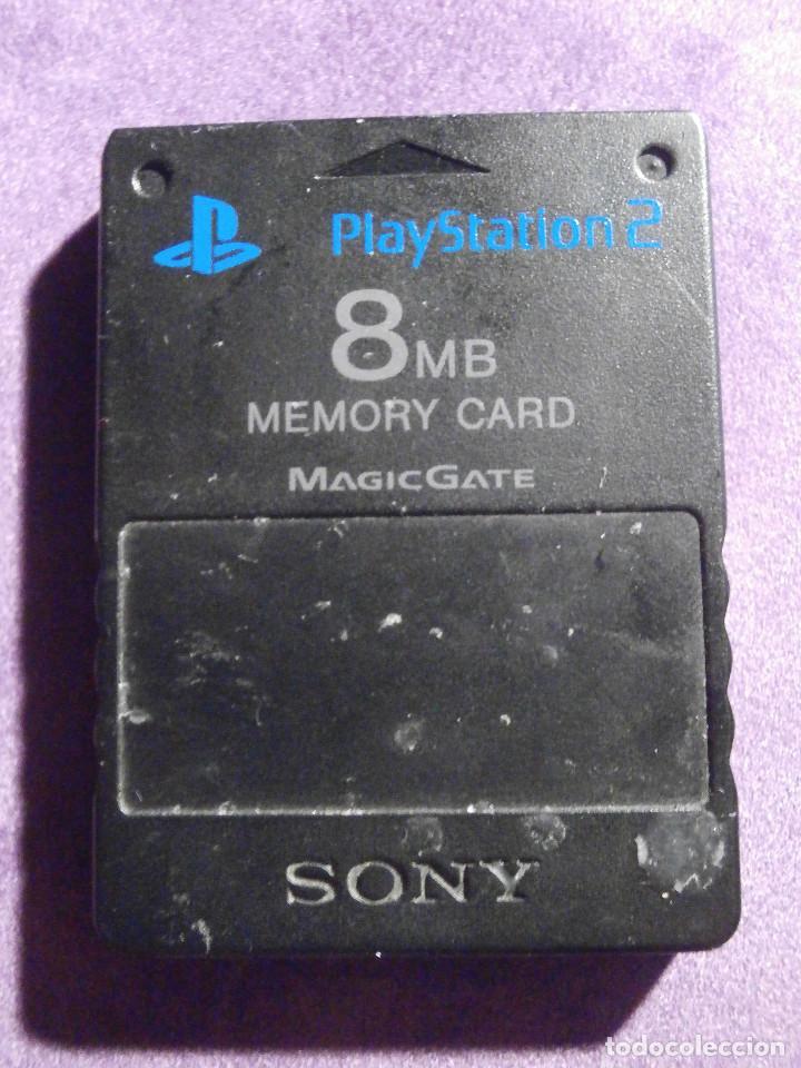tarjeta de memoria 8 mb playstation 2