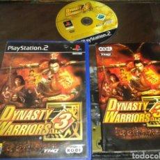 Videojuegos y Consolas: DYNASTY WARRIOS 3,PS2,PAL ESPAÑA,COMPLETO. Lote 62375052