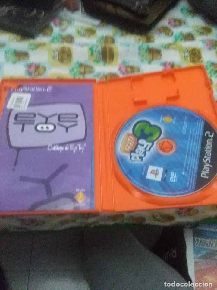 PLAY STATION 2. EYETOY PLAY 3 (Juguetes - Videojuegos y Consolas - Sony - PS2)