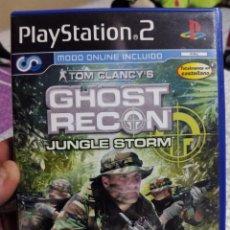 Videojuegos y Consolas: JUEGO DE PS2 GUERRA EN LA JUNGLA PS2 TOM CLANCY-GHOST RECON. Lote 62687404