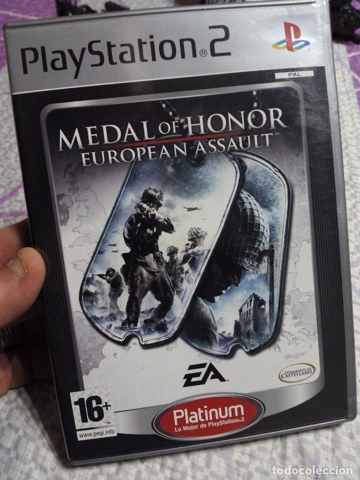 JUEGO DE GUERRA PS2 MEDAL OF HONOR (Juguetes - Videojuegos y Consolas - Sony - PS2)