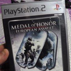 Videojuegos y Consolas: JUEGO DE GUERRA PS2 MEDAL OF HONOR. Lote 62689052