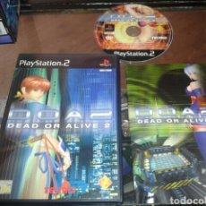 Videojuegos y Consolas: DOA2,DEAD OR ALIVE 2,PS2,CAJA Y MANUAL EN INGLES,JUEGO EN ESPAÑOL. Lote 62815820
