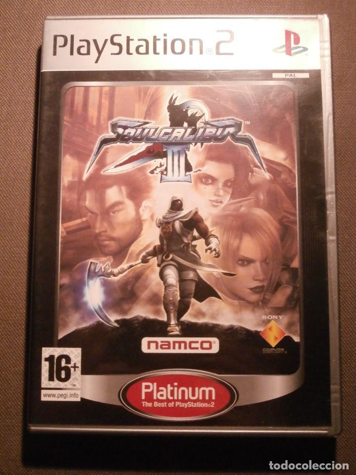 JUEGO PARA PS2 - PLAYSTATION 2 - SOUL CALIBUR III - NAMCO - (Juguetes - Videojuegos y Consolas - Sony - PS2)