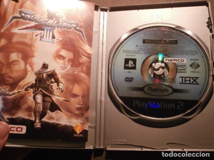 Videojuegos y Consolas: JUEGO PARA PS2 - PLAYSTATION 2 - SOUL CALIBUR III - NAMCO - - Foto 2 - 63030488