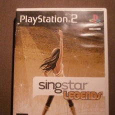 Videojuegos y Consolas: JUEGO PARA PS2 - PLAYSTATION 2 - SINGSTAR - SING STAR - LEGENDS - SONY. Lote 127461542