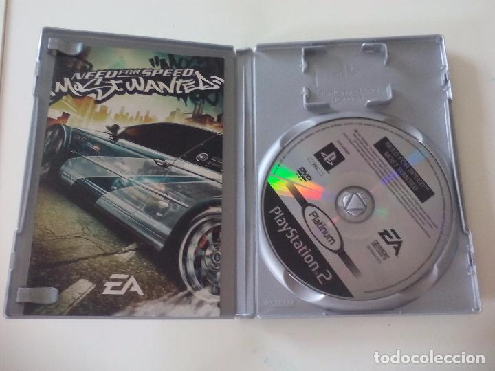Need for Speed Most Wanted  PlayStation 2  Sony Play station  Videojuego  PS2  pal