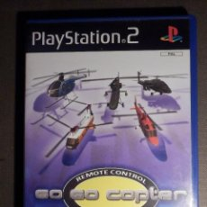 Videojuegos y Consolas: JUEGO PARA PS2 - PLAYSTATION 2 - GO GO COPTER - REMOTE CONTROL HELICOPTER - . Lote 63508060