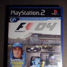 Videojuegos y Consolas: JUEGO PARA PS2 - PLAYSTATION 2 - F1 04 - FORMULA 1 2004 - SONY. Lote 63508076