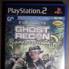 Videojuegos y Consolas: JUEGO PARA PS2 - PLAYSTATION 2 - GHOST RECON - JUNGLE STORM - UBISOFT. Lote 63508092