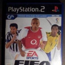 Videojuegos y Consolas: JUEGO PARA PS2 - PLAYSTATION 2 - FIFA FUTBOL 2004 - FOOTBALL - EA SPORTS. Lote 63508144