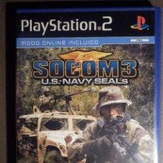 Videojuegos y Consolas: JUEGO PARA PS2 - PLAYSTATION 2 -SOCOM 3 - U.S. NAVY SEALS - SONY. Lote 63508276
