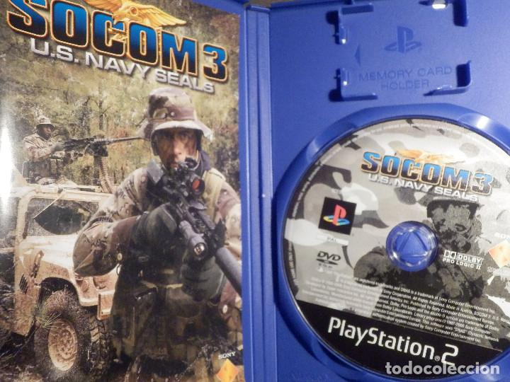 JUEGO PARA PS2 - PLAYSTATION 2 -SOCOM 3 - U S  NAVY SEALS - SONY