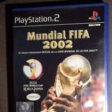 Videojuegos y Consolas: JUEGO PARA PS2 - PLAYSTATION 2 - MUNDIAL FIFA 2002 - KOREA JAPAN - EA SPORTS -. Lote 63508424