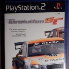 Videojuegos y Consolas: CAJA E INSTRUCCIONES DE JUEGO PARA PS2 - PLAYSTATION 2 - EVOLUTION GT - SONY. Lote 63508432