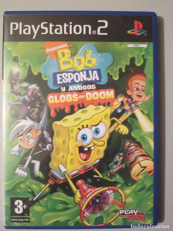 Juego Ps2 Bob Esponja Y Amigos Globs Of Doom Sold Through Direct