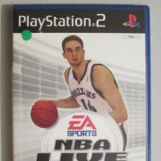 Videojuegos y Consolas: JUEGO PS2 NBA LIVE 2005. Lote 63573896