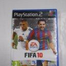 Videojuegos y Consolas: FIFA 10. 2010. EA SPORTS. PLAYSTATION 2. PLAY STATION. TDKV3. Lote 64313939
