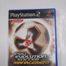 Videojuegos y Consolas: PRO EVOLUTION SOCCER MANAGEMENT. PLAYSTATION PLAY STATION 2. TDKV3. Lote 64314063
