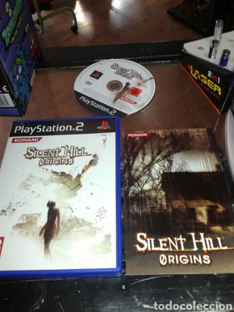 Ps2 Silent Hill Origins Completo Pal Espana Pla Sold Through