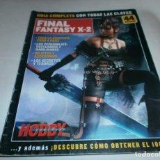 Videojuegos y Consolas: GUIA COMPLETA FINAL FANTASY X-2 (HOBBY CONSOLAS). Lote 64720099