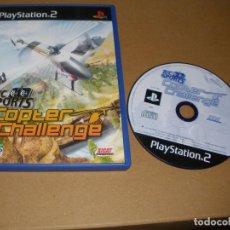 Videojuegos y Consolas: R/C SPORTS COPTER CHALLENGE - JUEGO PS2 - PLAY2. Lote 65036047