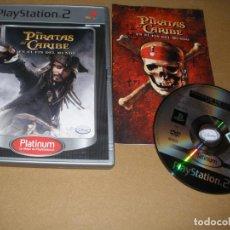 Videojuegos y Consolas: PIRATAS DEL CARIBE - EN EL FIN DEL MUNDO - JUEGO PS2 - PLAY2. Lote 65036143