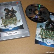 Videojuegos y Consolas: MEDAL OF HONOR FRONTLINE - VIDEOJUEGO PLAY 2 - PS2. Lote 65037927