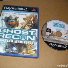 Videojuegos y Consolas: GHOST RECON - ADVANCED WARFIGHTER - JUEGO PLAY 2 - PS2. Lote 65038603