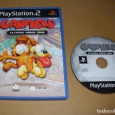 Videojuegos y Consolas: GARFIELD - LASAGNA WOLRD TOUR - VIDEOJUEGO PS2 - PLAY 2. Lote 65041547