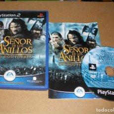 Videojuegos y Consolas: EL SEÑOR DE LOS ANILLOS - LAS DOS TORRES- VIDEOJUEGO PS2 - PLAY2. Lote 65087879