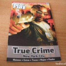 Videojuegos y Consolas: GUIA COMPLETA PARA EL JUEGO - TRUE CRIME - NEW YORK CITY - PS2 - PLAY2. Lote 197748126