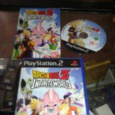 Videojuegos y Consolas: PS2,DRAGON BALL Z,INFINITE WORLD,COMPLETO,INFIMITEWORLD. Lote 71640373