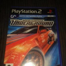 Videojuegos y Consolas: NEED FOR SPEED UNDERGROUND - PAL ENGLISH - PS2 PLAYSTATION 2 -. Lote 103621127