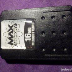 Videojuegos y Consolas: TARJETA DE MEMORIA - MAX MEMORY - 16 MB. . Lote 66838402