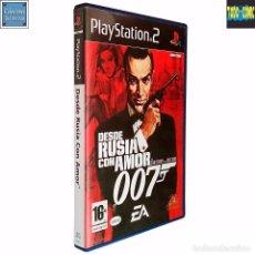 Videojuegos y Consolas: JAMES BOND 007 / DESDE RUSIA CON AMOR / PLAYSTATION 2 PLAY STATION PS2 / PAL / ELECTRONIC ARTS 2005. Lote 53912641