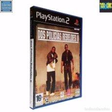 Videojuegos y Consolas: DOS POLICÍAS REBELDES II 2 / JUEGO PLAYSTATION 2 PLAY STATION PS2 / PAL / BLITZ EMPIRE 2004. Lote 67497977