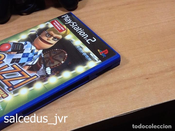 Videojuegos y Consolas: Lote Consola Sony PS2 PlayStation 2 Play Station Fat + juego Buzz Concurso de Deportes + Pulsadores - Foto 4 - 228869066