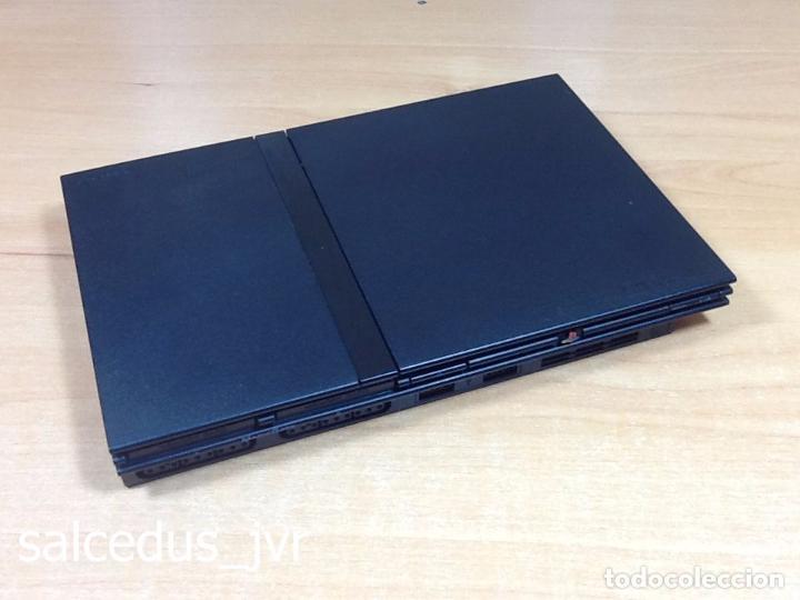 Videojuegos y Consolas: Lote Consola Sony PS2 PlayStation 2 Play Station PAL Slim + juego F1 05 Todo en Buen Estado - Foto 6 - 68268573