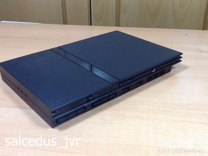 Videojuegos y Consolas: Lote Consola Sony PS2 PlayStation 2 Play Station PAL Slim + juego F1 05 Todo en Buen Estado - Foto 7 - 68268573